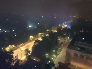 Smog in Delhi at Diwali