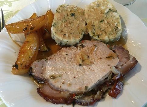 Austrian roast pork - schwinsbraten