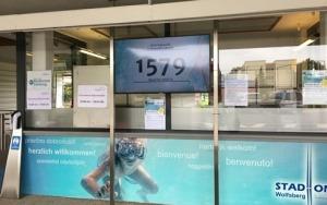 Swimming is finally back on - post corona
