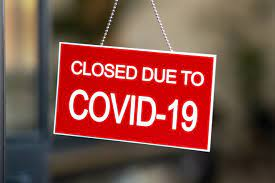Closed for covid