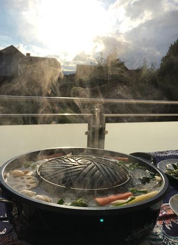 Hot pot at home
