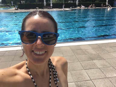 swimming summer